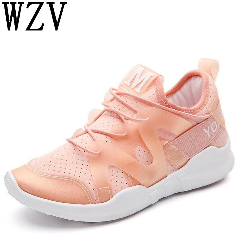 Spring and autumn fashion soft sneakers women Comfortable casual shoes soft high-quality breathable light flat footwear A208 women casual shoes 2018 summer cool breathable handmade female woven footwear fashion comfortable lightweight wovening sneakers