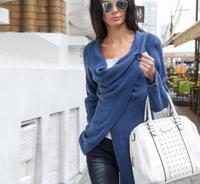 Fashion Women S Clothing European Knitting Leisure Time Suit Dress Loose Coat Europe Station New Product