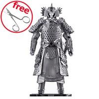 DIY Piececool 3D Puzzle Metal Models Educational Models Brinquedos Warriors Armor P049 S Orignal Design 3D