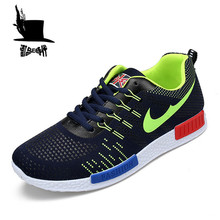 Air Mesh Mens Running Shoe Walking Chaussure Sport Outdoor Breathable Lace up Trainers Athletic Shoes Men Sneakers Zapatillas