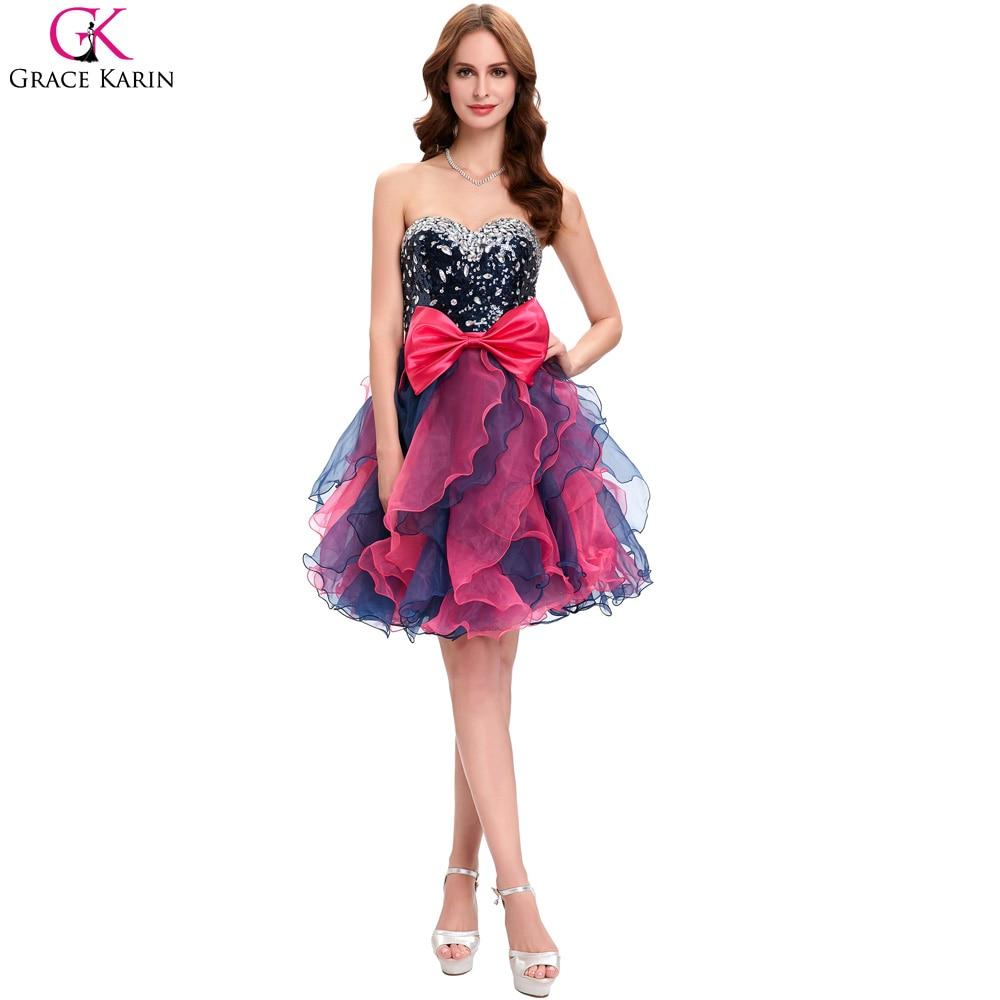 Puffy short dresses cheap