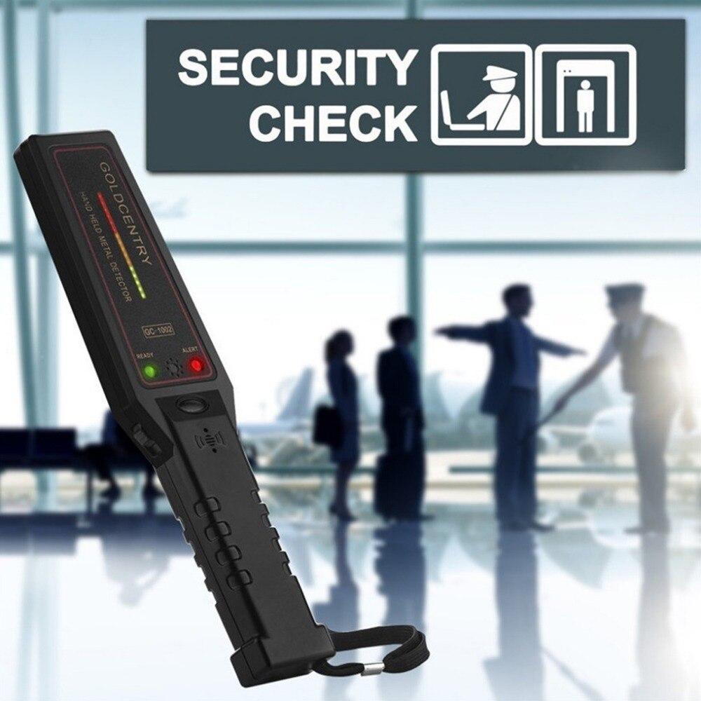 Portátil Instrumento de Inspeção de Segurança de Alta Sensibilidade Detector de Metais Portátil Scanner De Segurança para o Aeroporto Metrô Portátil