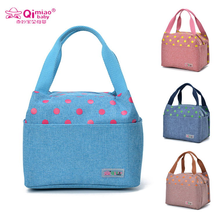 Qimiao Baby Diaper Bags 2019 New Mummy Bag Waterproof Thickening Oxford Cloth Ladies Hand Pack QIMIAOBABY