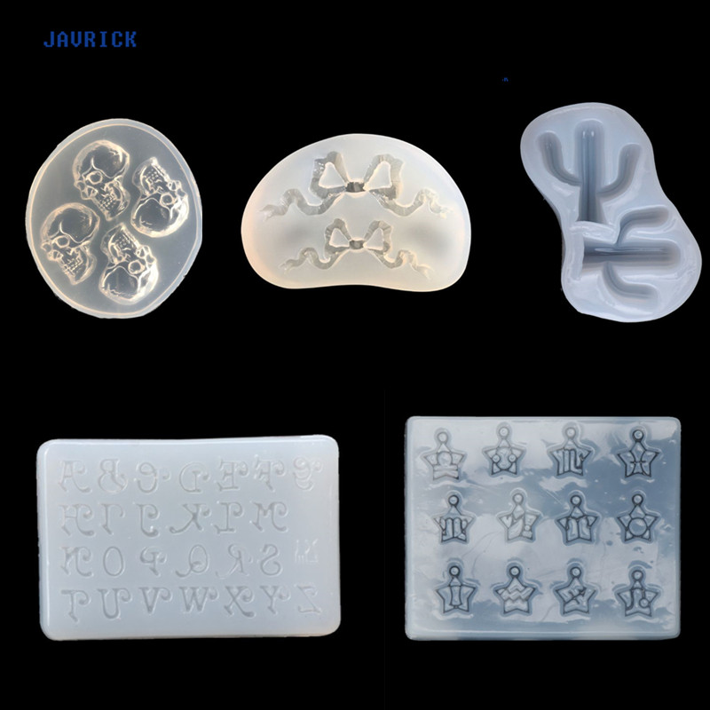 Silicone Mold 9x Heart DIY Mirror Crystal Epoxy Resin Molds Craft Jewelry Making