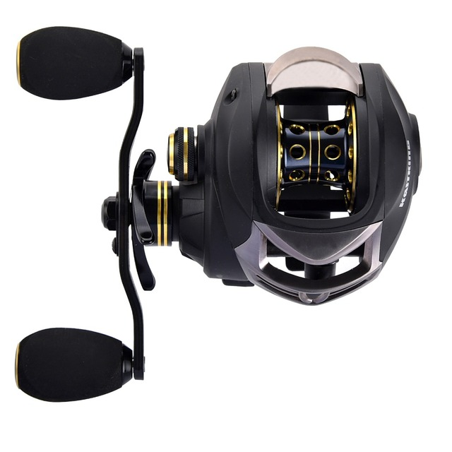 KastKing Stealth 11+1BB Carbon Body Right Left Hand Bait Casting Carp Fishing Reel High Speed Baitcasting Pesca 7.0:1 Lure Reel 5