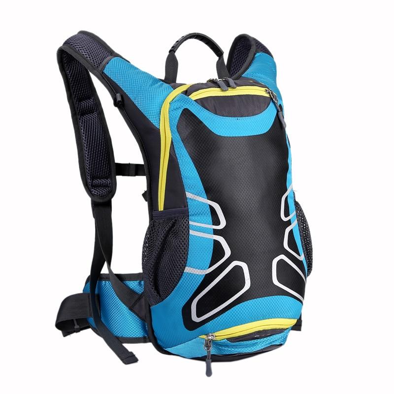 15L radfahren taschen basketball mesh rucksack outdoor-sport-rucksack fahrrad wandern clambing camping rucksack mit reflektierende streifen