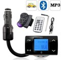 Bluetooth Car Kit MP3 Player FM Transmitter Modulator Remote Control USB/SD/MMC Support Free Shipping & Drop Shipping