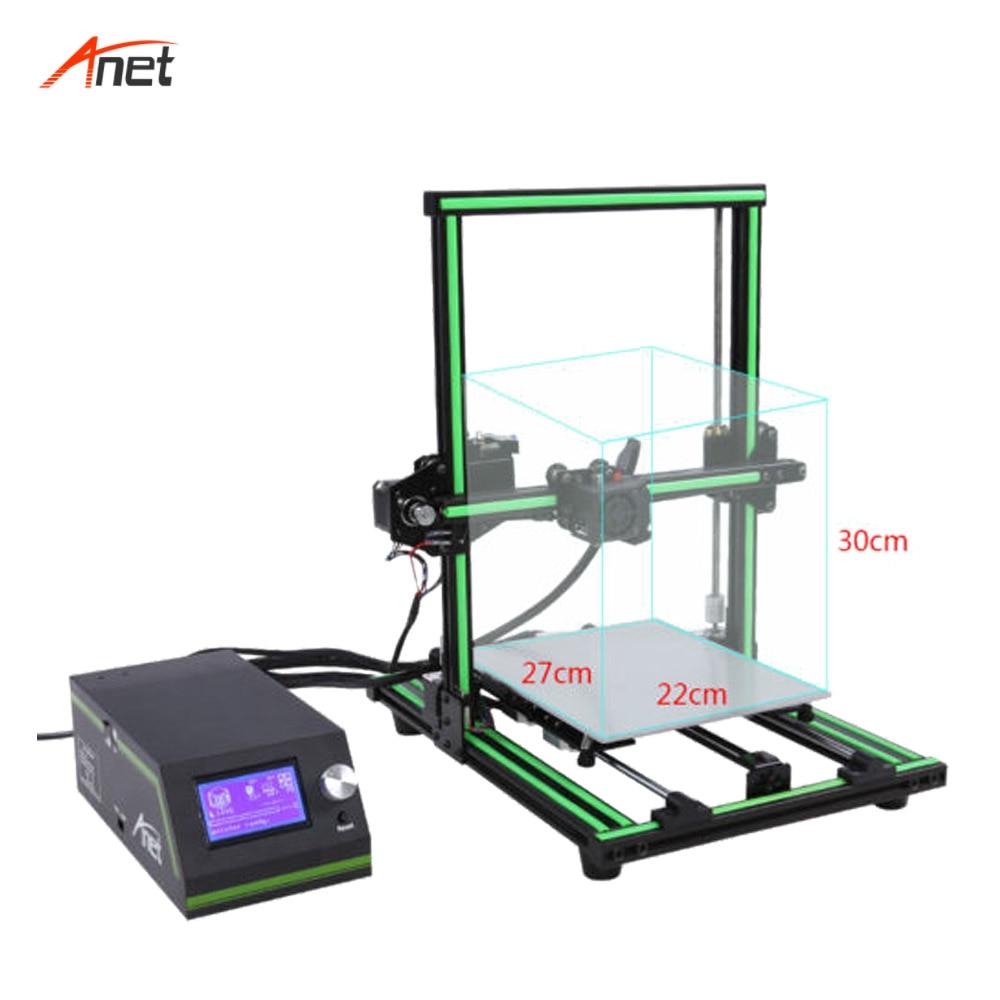 Anet E10 2018 Hot Koop Aluminium Frame DIY 3d Printer Machine 10 minuten te Monteren Gemakkelijk Operationele Impressora 3d Hoge precisie - 6