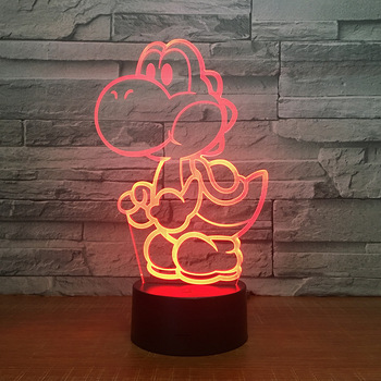 Lampe de nuit 3D Enfants Yoshi