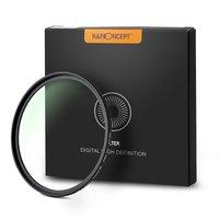 K&F Concept 58/67/77/82mm UV Filter for Camera Lenses,18 Layer Multi Coated UV Protection Ultra Slim Filter Nanotech Coatings
