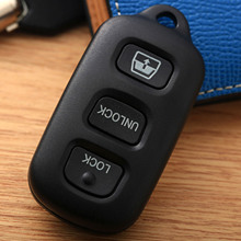 3 Buttons Replacement Keyless Entry Remote Key Shell Fob Case for Toyota 4Runner Sequoia Clicker Shell Pad Key Case Cover aml030506 replacement 4 button remote key cover shell case for toyota black