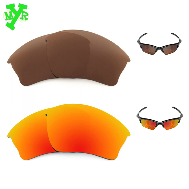 dafcc8ad3 MRY Bronze Brown & Fire Red 2 Pair POLARIZED Replacement Lenses for OAKLEY  Sunglasses HALF JACKET