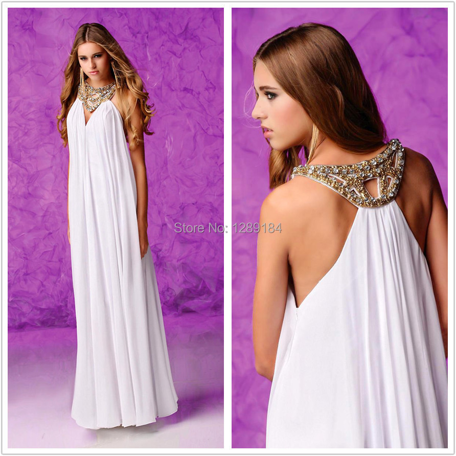 Dubai Kaftan White Dress Latest Dress 2015 Designs Halter Style ...