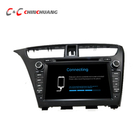 New Quad Core Android 6.0 Car DVD Player for Honda Civic 2013 2014 with GPS+Glonas Radio BT Mirror link WiFi Free 8G Map Gift !