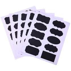 50 шт./компл. доска стикеры Craft кухня Jar наклейки для надписей стекло оконные рамы доске канцелярские принадлежности