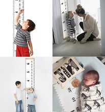 Scandinavian Style Baby Child Kids Height Ruler Growth Size Chart Height Measure Ruler Wall Sticker For Room Home Decoration INS(China)