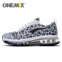 onemix Air Soft Cushion Running Shoes for Men Brand Sneaker Free Run Thea Jogging Women Trainers Racer Barefoot female shoe(China)