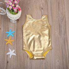 ab2700cd3d0b Cute Newborn Infant Baby Girls Back Bowknot Gold Color Romper Jumpsuit  Summer Clothes Gold(China