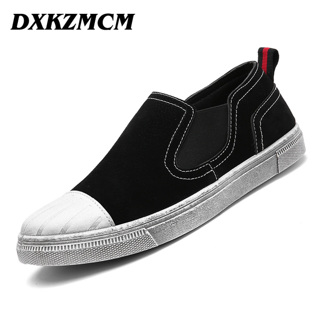 Men's Shoes Soft Moccasins Men Loafers Driving Casual Shoes Size 39-44