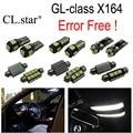 24 unid X Error bombilla LED Libre Kit de luz interior para Mercedes para Mercedes-Benz GL class X164 GL320 GL350 GL420 GL450 GL500 (06-12)