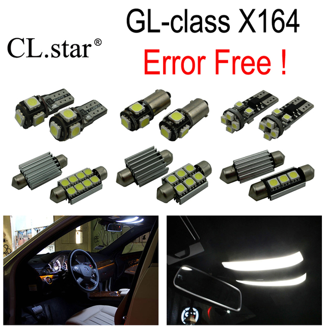 24pc X Error Free Led Bulb Interior Light Kit For Mercedes Benz Gl