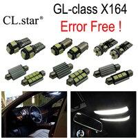 24pc X Error Free LED bulb interior light Kit for Mercedes for Mercedes Benz GL class X164 GL320 GL350 GL420 GL450 GL500 (06 12)