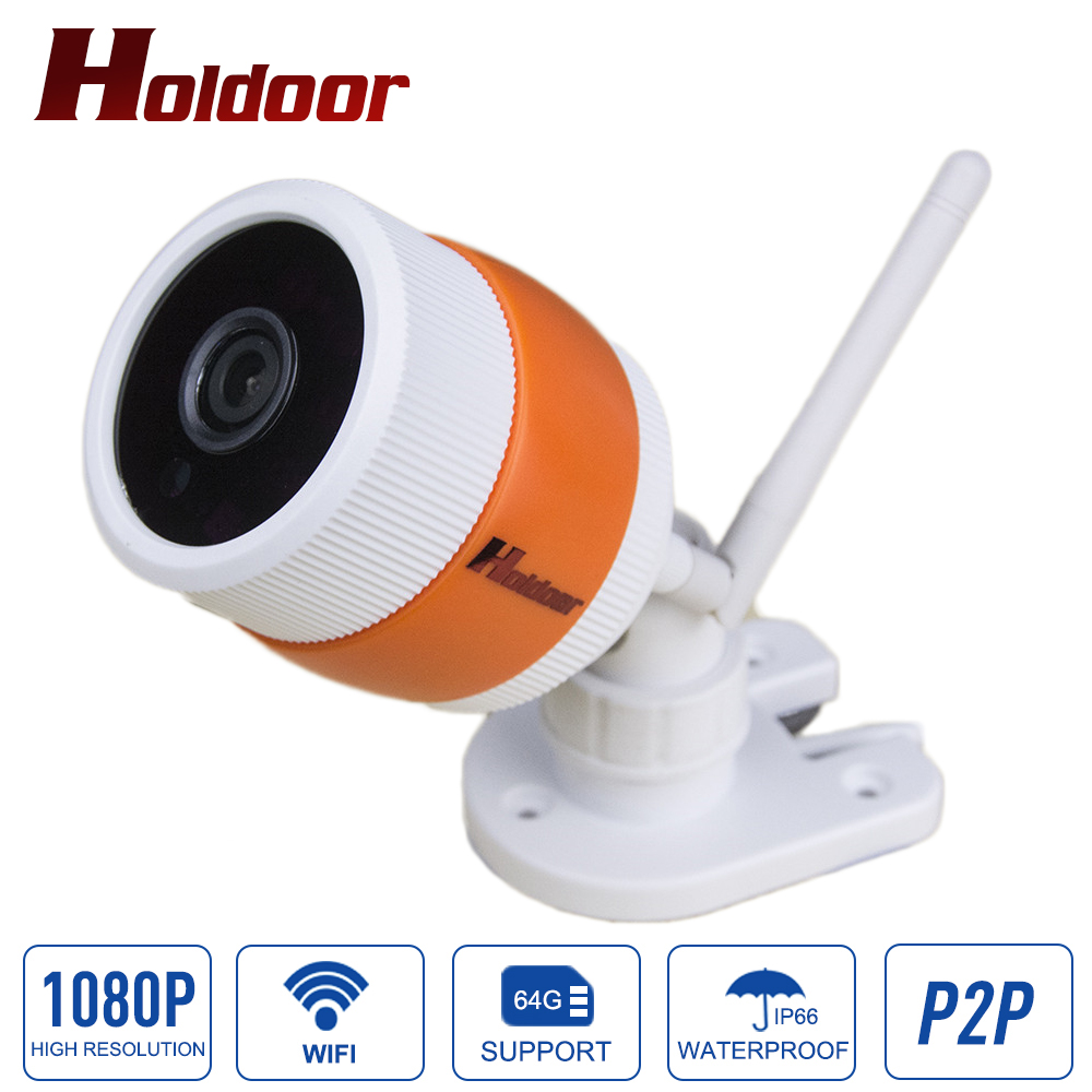 1080P IP Camera Wireless WIFI P2P Bullet Camera Waterproof IP65 CCTV Security Surveillance ONVIF with TF Card Slot Support 64G wistino 1080p 960p wifi bullet ip camera yoosee outdoor street waterproof cctv wireless network surverillance support onvif