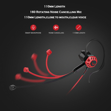 Gaming Earphone With Microphone Volume Control Stereo Noise Cancelling