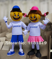 MASCOT tennis boy and girl mascot costume fancy costume cosplay kits mascotte fancy dress carnival costume