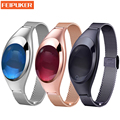 2017 Smart Bracelet Blood Oxygen Heart Rate monitoring Reminder Pedometer Sport Smart Wristband for Woman Android IOS Smart band