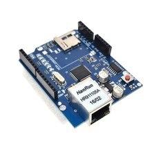 10 pz/lotto Shield Ethernet Shield W5100 scheda di Sviluppo PER arduino