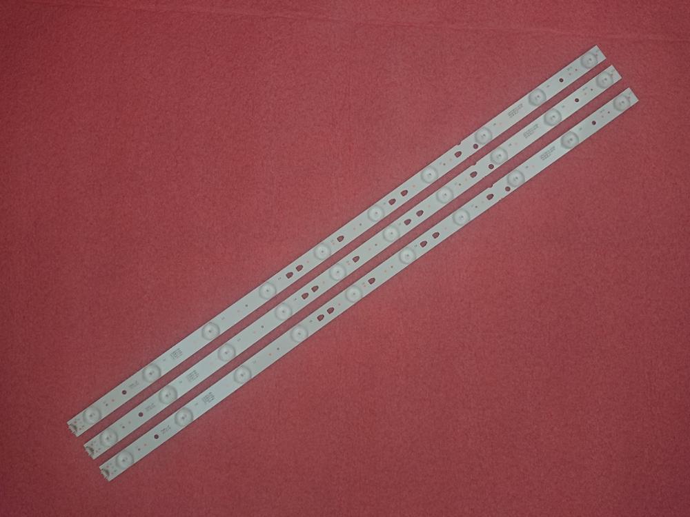 Novo 3 pçs 10 leds 635mm led backlight strip para 32pal535 le32b310n LED315D10-07 (b) 30331510219 LED315D10-ZC14-07 (a) 30331510213