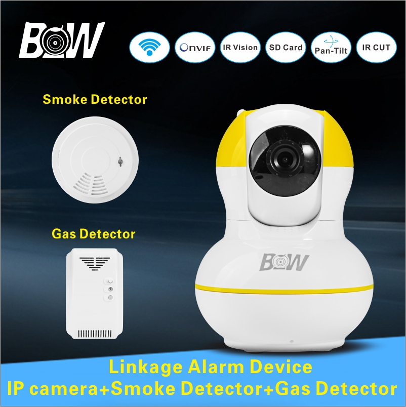 wireless infrared camera security onvif ip camera smoke detector gas detector wifi camera baby. Black Bedroom Furniture Sets. Home Design Ideas