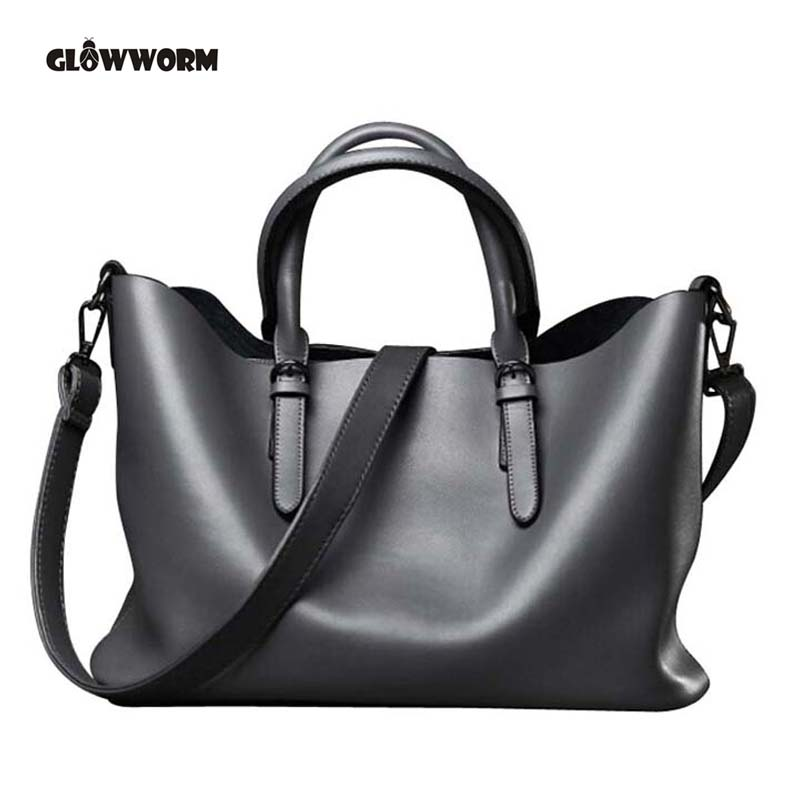 2017 Brand Women Handbags High Quality Shoulder Bags Fashion Genuine Leather Messenger Bag Ladies Tote Designer Handbag XP317 designer brand genuine leather women tote bag fashion women leather handbags messenger shoulder bags for women hb 131
