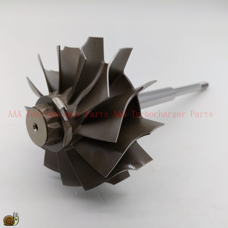 Turbocharger Turbine Wheel Manufacturing Process: HX55 Short Shaft Turbocharger Turbine Wheel 77x86mm