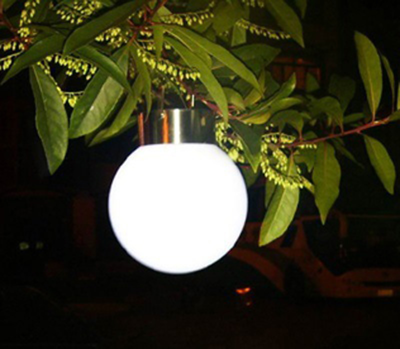 Cheap light for garden