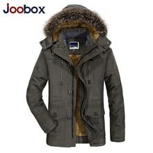 7xl Men Bomber Jacket Fur Hooded Military Jackets Men Winter