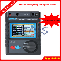 ETCR3800B touch color screen Intelligent lightning protection component Tester Insulation resistance tester