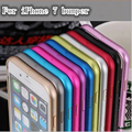 Para iPhone7 7 Plus Caso Alumínio Metal Bumper Tampa Do Caso Do Quadro para iphone 7 plus ultra slim fina capa iphone 7g bumper caso