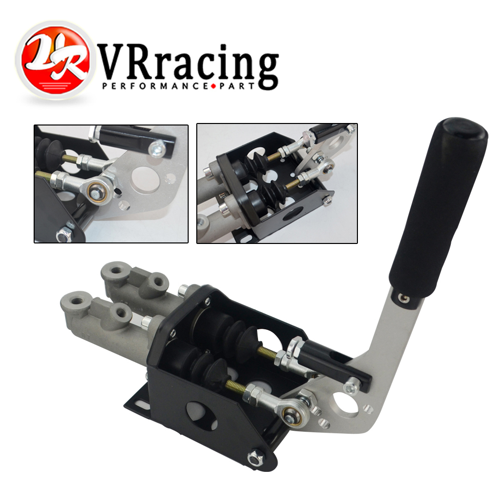 VR RACING-Vertikale Hydraulische Handbremse Twin Zylinder Mit Master Zylinder VR3944