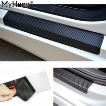 4PCS Accessories for Fiat 500 500C 2009-2015 car door plate Door Sill scuff plate cars sticker Auto car-styling