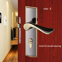 1 Set European style Vintage Door Lock Style Retro Bedroom Handle Interior Anti-theft room safety less 50 door lock