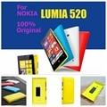 """100% оригинальный Задний корпус для Nokia lumia 520 4.0 """"вернуться батарейного отсека крышка Красочные Резина Матовый Жесткий Чехол + 1x экран фильма"""
