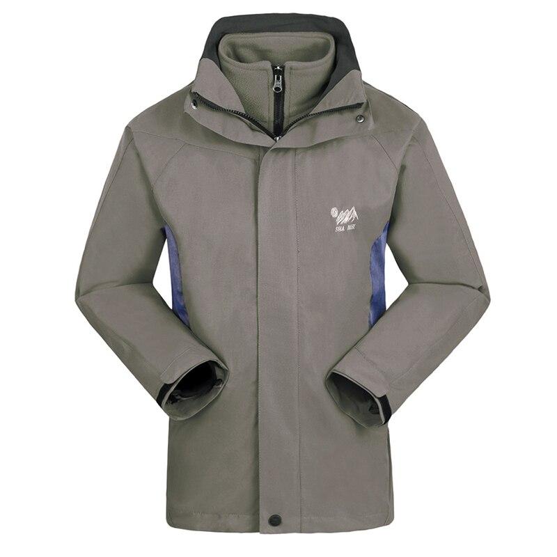 New Arrive Winter 3 In 1 Thermal Veste Homme Oudoors Windbreakercoat Travel Waterproof Jacket Men Anti-static Jaquetas Masculina
