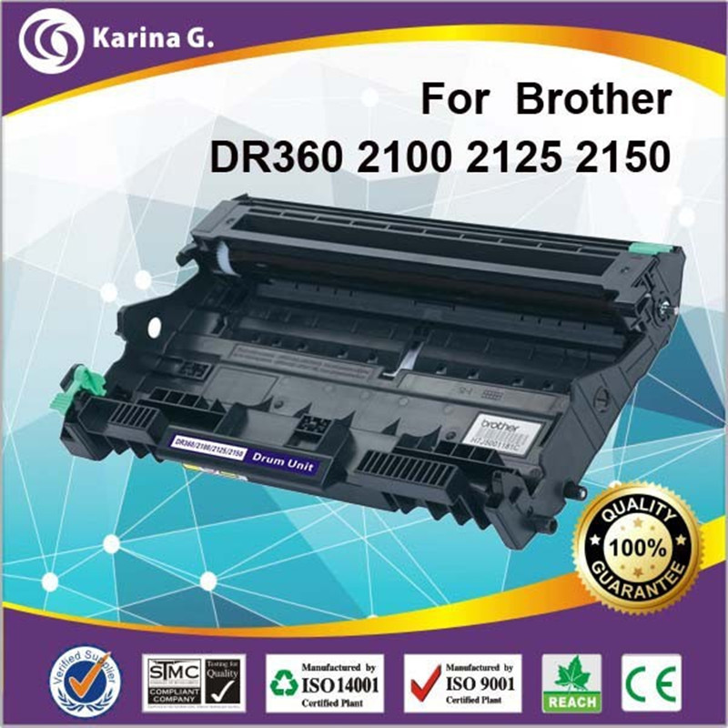 1 X Compatible Drum Unit for DR360 DR2100 for brother hl-2140 hl-2170w mfc-7440n mfc-7840w mfc-7340 mfc-7345n dcp-7030 dcp-7040 new opc drum for brother hl2030 2040 2050 2070 2140 2150 2170 dcp7010 7020 7030 7040 mfc7220 7320 7340 7420 7820 7840