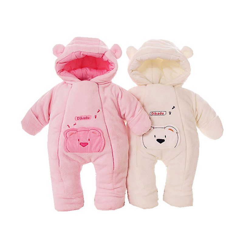 2016 Christmas Coral Fleece Baby Jumpers High Quality Baby One-Pieces Romper Baby Rompers Winter Sleepsuit Pajamas Kid Apparel