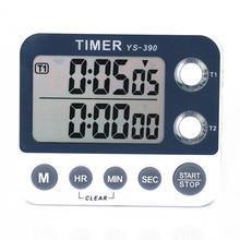 Two-channel electronic timer Multi-function kitchen timer