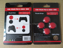 Clear Multi Colors Analog TPU PS4 Joystick Caps Covers For Xbox one Controller