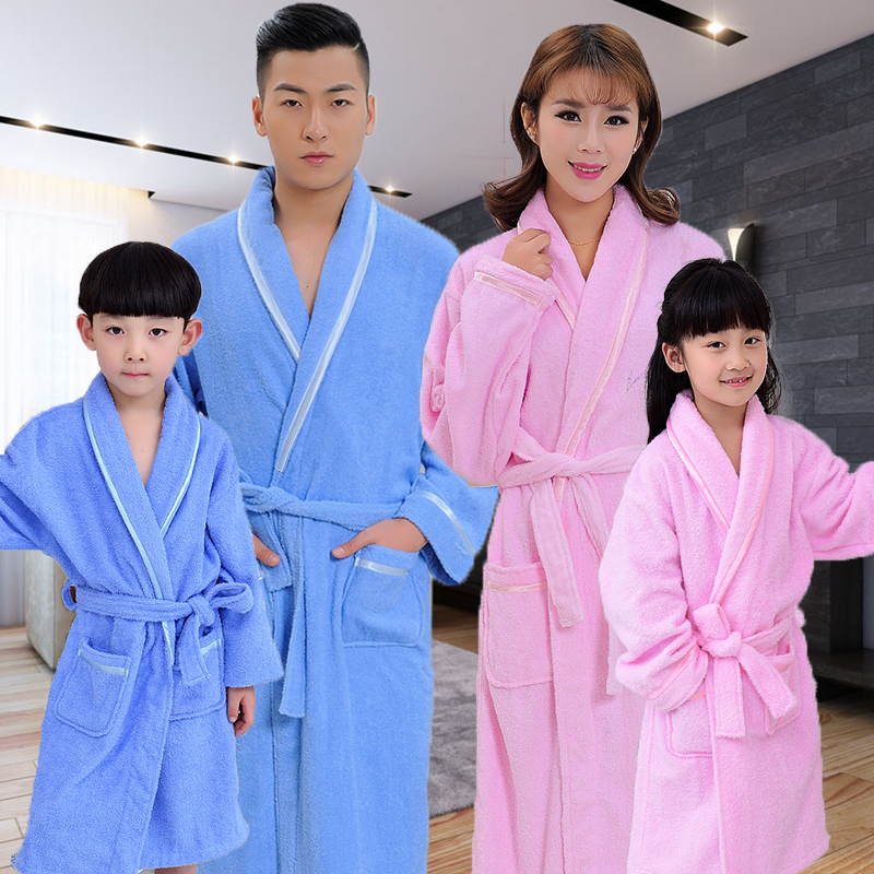 Bathrobe Cotton Men Towel Flannel Bathrobes Robes Men Bridesmaid Robes Male Sleepwear Mens Dressing Gown Super Soft Warm Robe