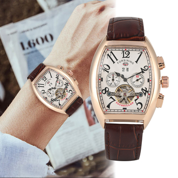 Luxury Hollow Out Automatic-self-winding Mechanical Watch Calendar Stainless Steel Case Mechanical Watches Business Men Clock luxury hollow out automatic self winding mechanical watch calendar stainless steel case mechanical watches business men clock